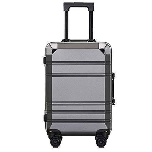 YSYDE 20 inch Cabin koffer lichtgewicht Carry-On handbagage 4 Spinner Wheels Trolley Case 360 graden Travel Trolley Case en kan worden aangepast naar wens en vrij