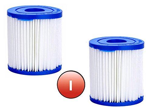 "Bestway Filter Cartridge I (3.2"" x 3.5"") 6 x Twin Pack"