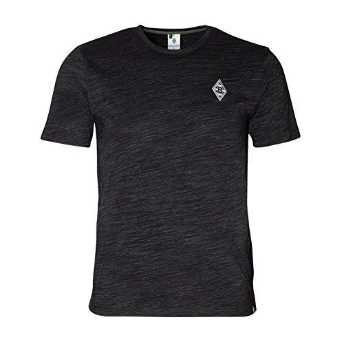 Borussia Mönchengladbach Supporter II T-Shirt (L, schwarz)