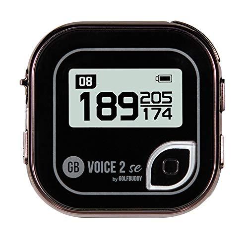 Golf Buddy Voice 2 Talking GPS Rangefinder, Long Lasting Battery Golf Distance Range Finder, Easy-to-use Golf Navigation for Hat