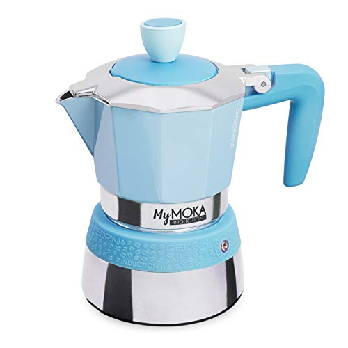 Pedrini-Espressokocher MyMoka Induction MYMOKA INDUCTION 3 Tazze Cloudnine