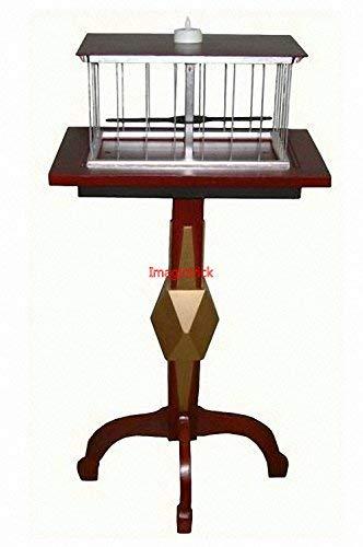 Schwebender Tisch mit ansprechendem Vogelkäfig-Tisch – Deluxe – Magic Tricks / Stage Magic