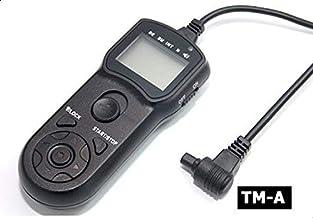 TM-C جهاز التحكم عن بعد بتصميم سلكي بمؤقت ال سي دي متعدد الوظائف لكاميرا كانون من جيه-جيه-سي