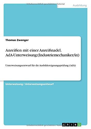 GRIN Verlag Anreißen Bild