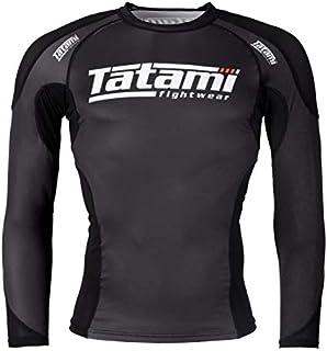 Tatami Technical BJJ Rash Guard - Black - MMA Compression Top