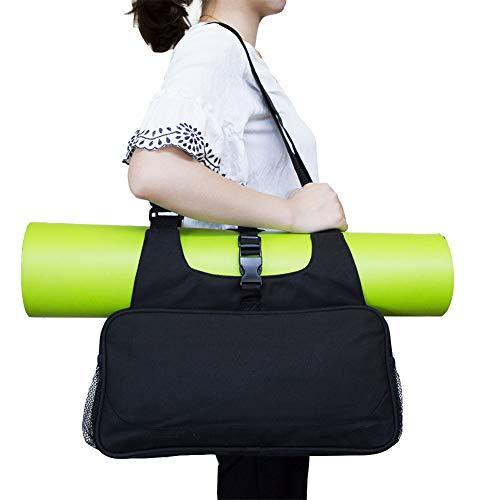 Rysmliuhan Shop Funda Esterilla Yoga Bolsa Yoga Esterilla Yoga Mat Bolsa Grande Yoga Cubierta de la Bolsa Juego de esteras y Bolsas de Yoga Black,-