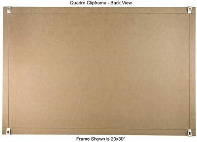 Amazoncom Quadro Clip Frame 11x14 Inch Borderless Frame Home