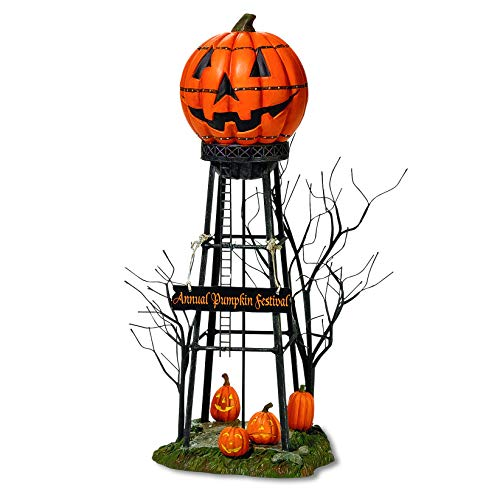 Pumpkin Head Water Tower Best Halloween Yard Decoration