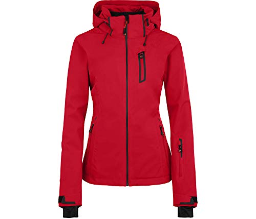 Bergson Damen Skijacke Nice Light, Chinese red [104], 46 - Damen