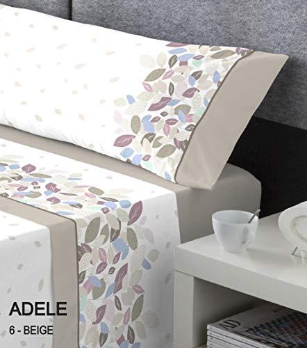 Sängkläder serena säng med 160 cm bred beige