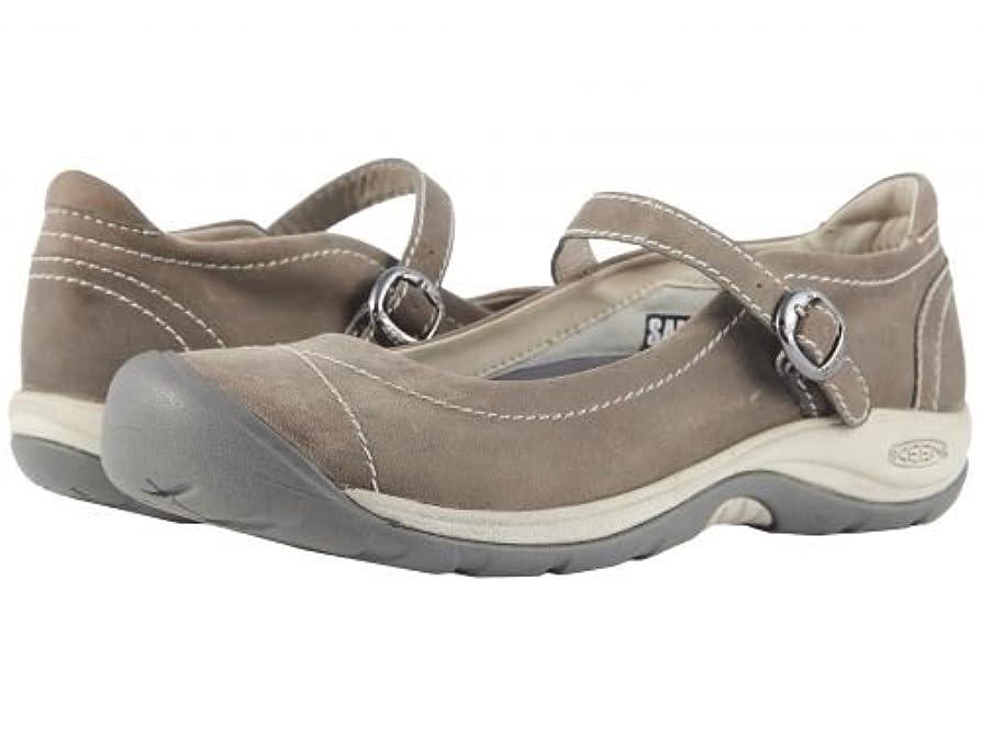 料理倍増机Keen(キーン) レディース 女性用 シューズ 靴 フラット Presidio II MJ - Paloma/Silver Birch [並行輸入品]