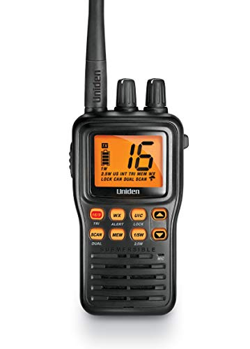 Waterproof Handheld 2-Way VHF Marine radio