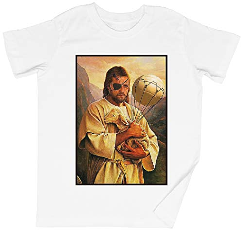 Veneno Jesús Serpiente Blanca Niños Chicos Chicas Camiseta Unisexo White Kid's Boys Girls tee