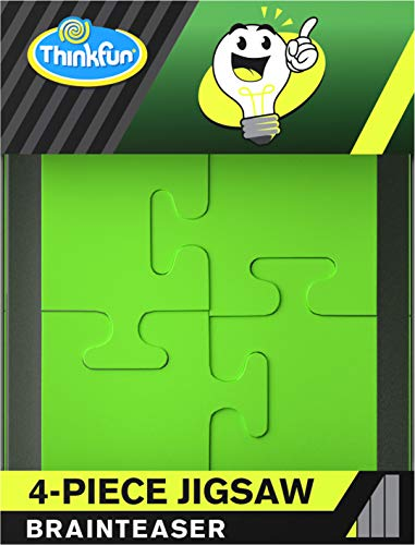 ThinkFun Pocket Brainteasers  4Piece Jigsaw Game and STEM Toy for Boys and Girls Age 8 and Up