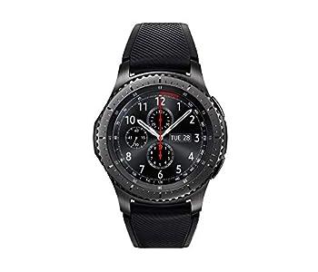 SAMSUNG GEAR S3 FRONTIER Smartwatch 46MM  Bluetooth Only  - Dark Grey  Renewed