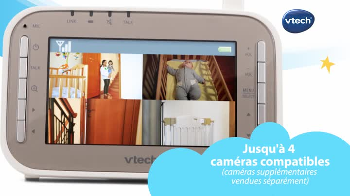 Vtech Camera supp BM4510 blanc compatible avec BM4500