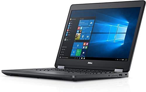 Fast Dell Latitude E5470 HD Business Laptop Notebook PC - No Webcam - (Intel Core i5-6300U, 8GB Ram, 256GB Solid State SSD, HDMI, NO-Camera, WiFi, SC Card Reader | Win 10 Pro (Renewed).