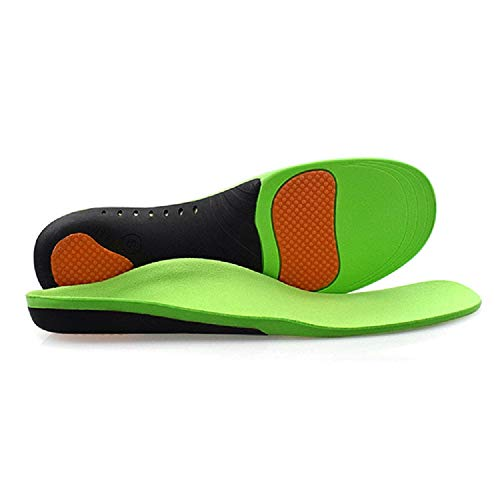 Happy feet Arch Support Orthotics - Green Color Flat Feet Pain Relief Insole