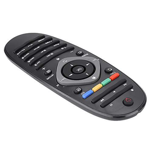 Shipenophy Mando a Distancia de Repuesto Mando a Distancia portátil Ligero Compatible con televisores Philips