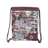 ANEKKE Saco Mochila Textil Egipto Letras   Accesorios y Complementos para Mujer