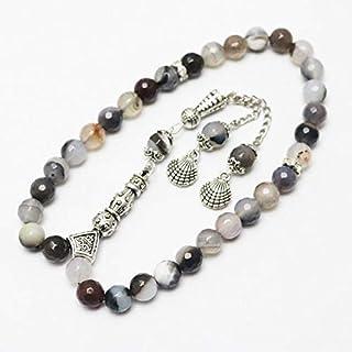 8mm 33 Prayer Beads Muslim Tasbih Allah Mohammed Rosary For Unisex