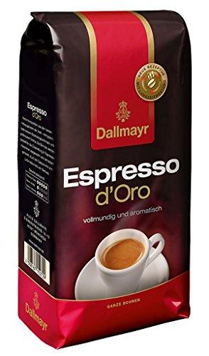 Dallmayr Espresso d'Oro ganze Bohnen, 1000 g Beutel