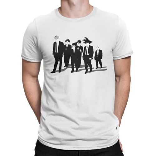 766-T-shirt Dragon Ball - Z Dogs (DDjvigo) - Blanc - L