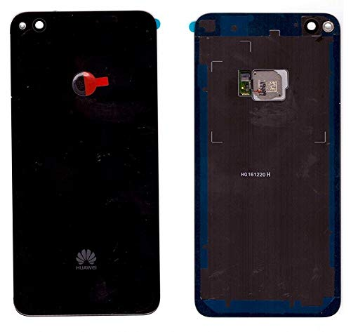 Accudeksel voor Huawei P8 LITE (2017) deksel backcover in zwart met vingersensor/plakfolie