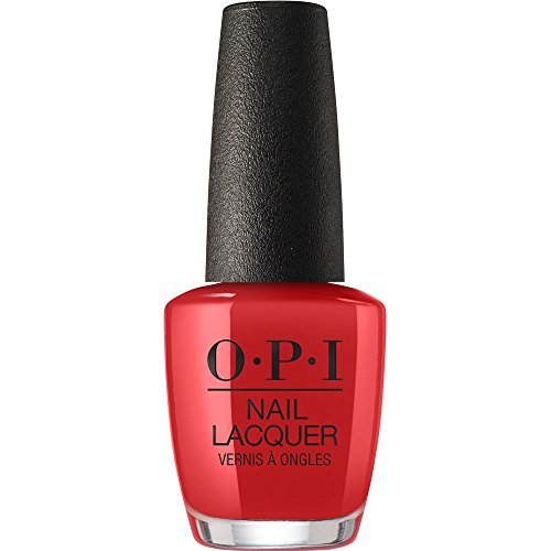 OPI Nail Lacquer, Danke-shiny Red, 0.5 Fl Oz