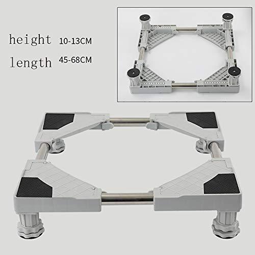 SLMY 4 Wielen voor Wasmachine Droger Koelkast Kast Roller Pad Hoge Automatische Koelkast Seat Universele Plank