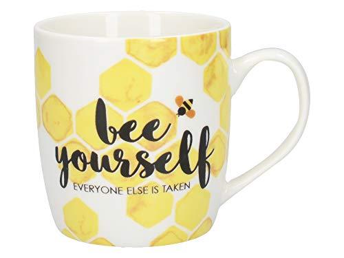 Creative Tops OTT - Taza de café (porcelana, 390 ml), diseño de abeja