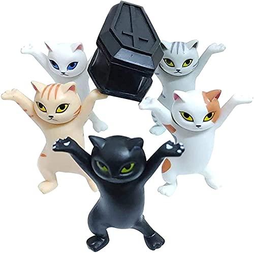 ZLYY The Cat Coffin Dance - Soporte para lápices con diseño de gato