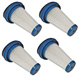 Black and Decker 4 Pack of Genuine OEM Replacement Filters for Lithium 2-in-1 Stick Vacuums # SVF11-4PK
