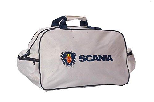 Scania Sporttasche Leichte Seesack Reisegepaeck Duffel Wochenende Uebernachtung Taschen fuer Reisen Sport Gym Urlaub