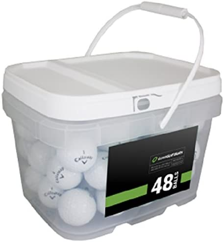 Callaway Player Mix Regular store 48 Balls White Recycled Golf High quality