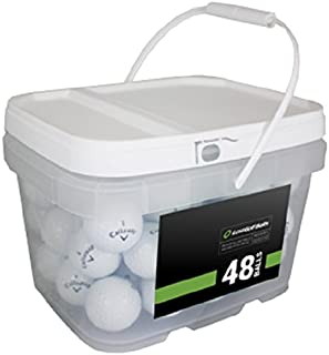 Callaway Player Mix 48 توپ گلف بازیافتی ، سفید