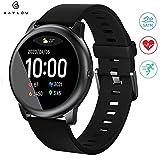 WARMTUYO Smartwatch,Reloj Inteligente con Pulsómetro,Cronómetros,Calorías,Monitor de Sueño,Podómetro Pulsera Actividad Inteligente Impermeable IP68 Smartwatch Hombre Reloj Deportivo