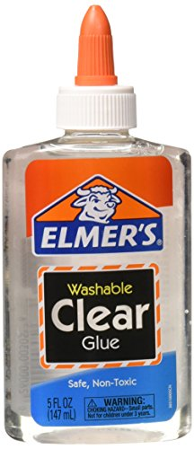 Wholesale CASE of 25 - Elmer's Washable Clear School Glue-School Glue, Washable, 5 oz., Clear
