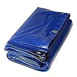 YUJIE Carpa para Remolque De Cubierta De Lluvia para Techo De Barco De Lona Azul Pesado para Trabajo Pesado - 100% Impermeable Y Protección UV, Espesor 0.35 Mm (Tamaño : 3MX3M)
