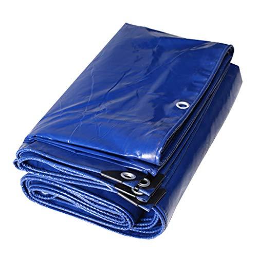LLRDIAN Tienda de remolque for carpa cubierta impermeable for la lluvia cubierta de la lluvia del techo del barco del automóvil azul - 100% a prueba de agua y protección UV, espesor 0,35 mm lona alqui