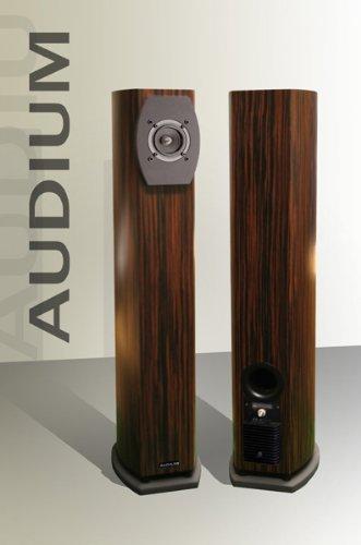 Audium Comp 5 Active - Standlautsprecher vollaktiv (Hochglanz schwarz)