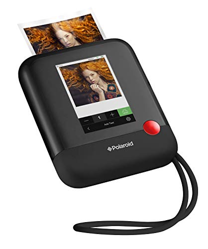 Polaroid POP 2.0 20MP Digital Sofortbildkamera mit 3,97 Touchscreen-Display, Zink Zero Ink-Technologie druckt 3,5 x 4,25 Fotos, Schwarz