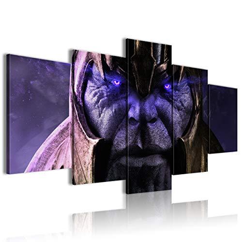 AivGEG 5 Pezzi Sharingan Poster Movie Avengers: Infinity War Soggiorno 150x80 con Cornice