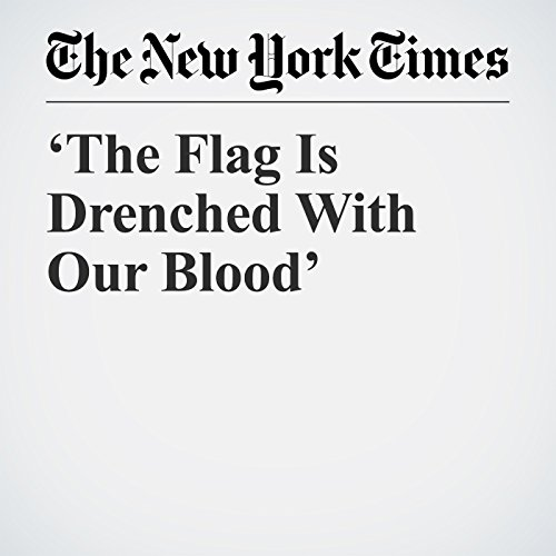 'The Flag Is Drenched With Our Blood' copertina