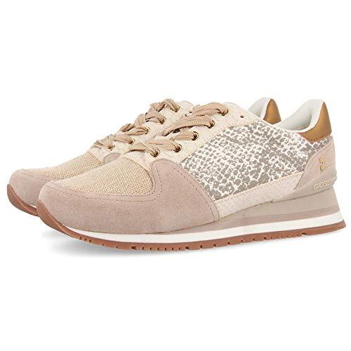 Gioseppo ITTRE, Zapatillas para Mujer, Beige (Beig Beig), 39 EU