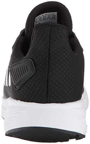 adidas Unisex-Kid's Duramo 9 Running Shoe, Black/White/Black, 5 4