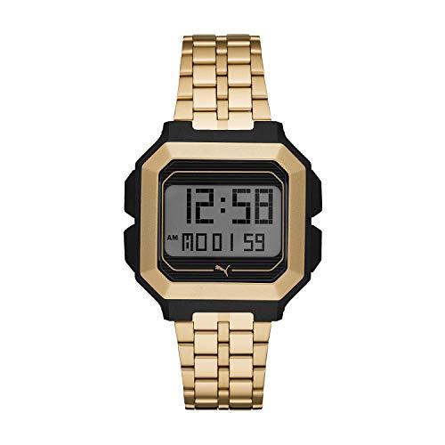 Puma Remix - Reloj deportivo digital para hombre, 42 mm