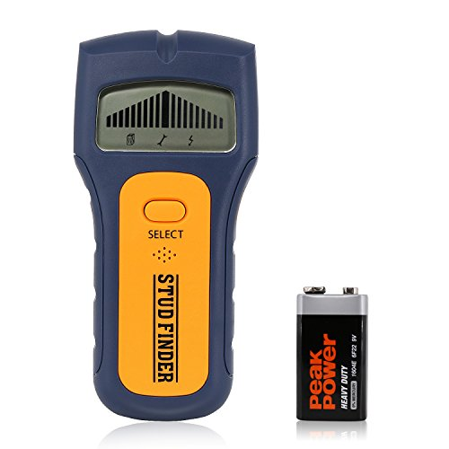 Stud Finder Multifunctional Edge-Finding wall Scanner, magnetic Sensor for Wood Metal/Wall Studs/AC Wire