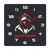 Reloj de cocina Cool Gamer en Auriculares Moda Impreso Acrílico...