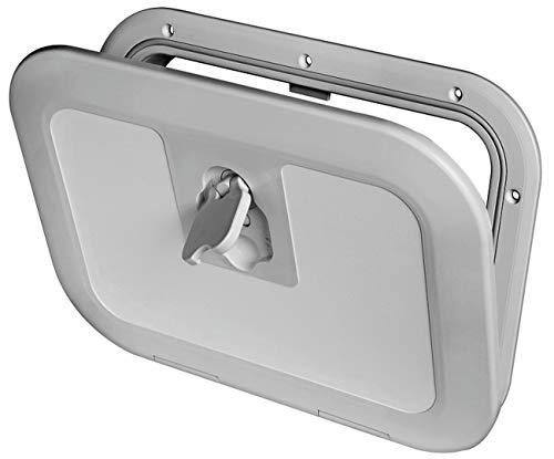 Osculati plastic inspectiedoek - 380 mm x 280 mm - verkrijgbaar in de kleuren crème, zwart of grijs
